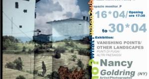 mostra VANISHING POINTS/OTHER LANDSCAPES di Nancy Goldring artista e fotografa