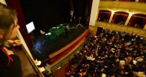 Architects meet in Selinunte 2012 _ Foto della Lectio di Fuksas e delle Premiazioni – Teatro Salinus di Castelvetrano 2012