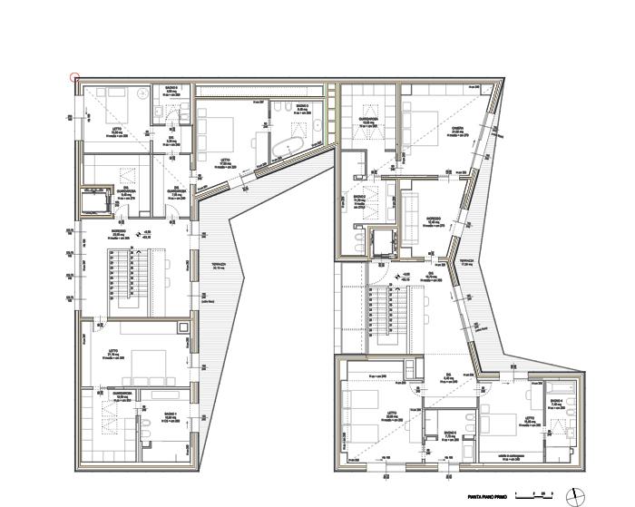 Camere Dalbergo Dwg ~ idee di design per la casa