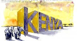 Carnet de Voyages di Roberto Malfatti KENYA 1