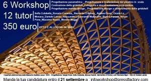 """PROROGA ISCRIZIONI C'è tempo fino al 21 settembre per iscriversi alla Summer School Selinunte 2012: """"LET'S BUILD!""""_30 settembre-7 ottobre"""