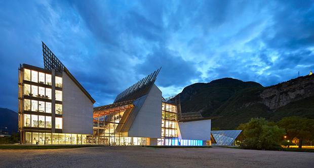 MUSE, il Museo della Scienza di Trento di Renzo Piano