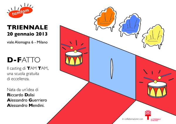 Apre a Milano TAM TAM: la scuola non scuola – di Sara Ricciardi