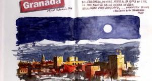 Carnet de Voyages di Roberto Malfatti ALHAMBRA 1