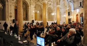 """Architects meet in Selinunte 2011   """"Prospettive per il prossimo futuro"""" _       Foto  Lecture D.Libeskin – Castelvetrano – Chiesa del Purgatorio"""