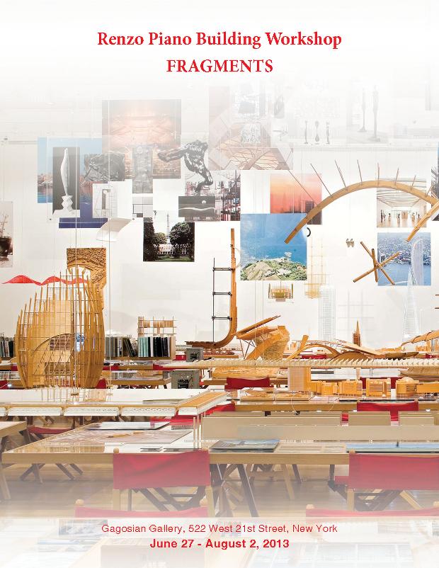 Mostra fragments renzo piano building workshop for Progetti di renzo piano