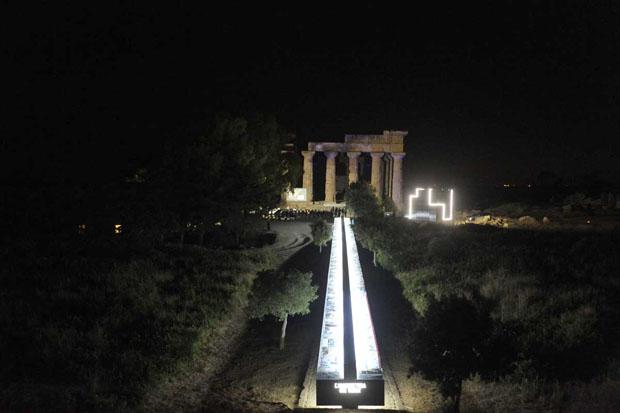 """Architects meet in Selinunte 2013  """"L'architettura che verrà""""_ Foto – Parco Archeologico di Selinunte"""