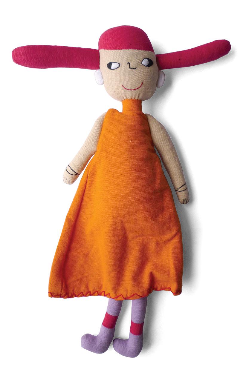 Alexa Lixfeld - Me and my doll - Imesha - photo Annika Luebbe