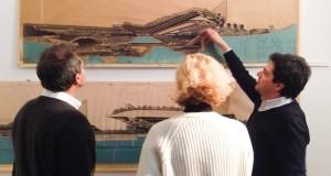 """""""COPIARE DA SATURNO_Luigi Pellegrin"""" a cura di Sergio Bianchi _ Foto della mostra – Interno 14"""