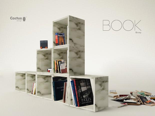 book panchina libreria