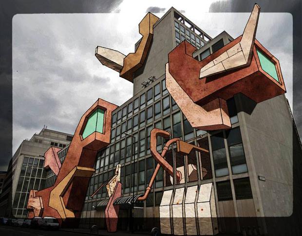 La fine del mondo secondo ercolani di alessandro melis for Strumento di disegno di architettura online