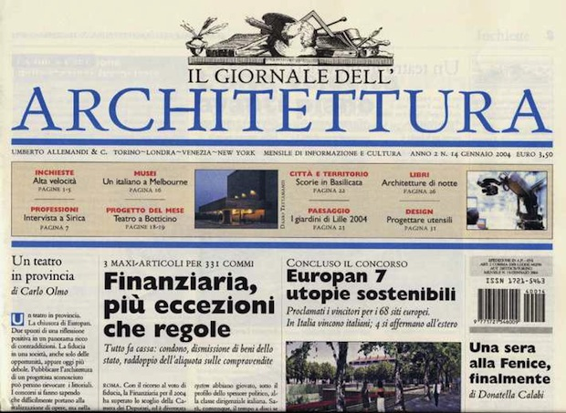 Chiudono le riviste di architettura di lpp press tletter for Riviste di architettura italiane