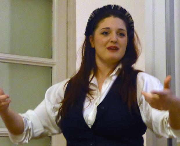 Intervista a Benedetta Bruzziches durante il suo speech del 20 Marzo 2014 presso Interno 14, Roma.