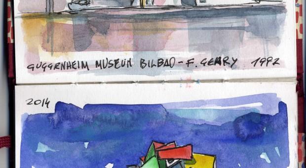 Carnet de Voyage di Roberto Malfatti – Frank O Gehry