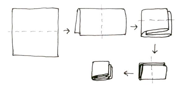 Schizzo interpretativo della complessità del mandala di Charles Correa. courtesy Charles Correa Archive