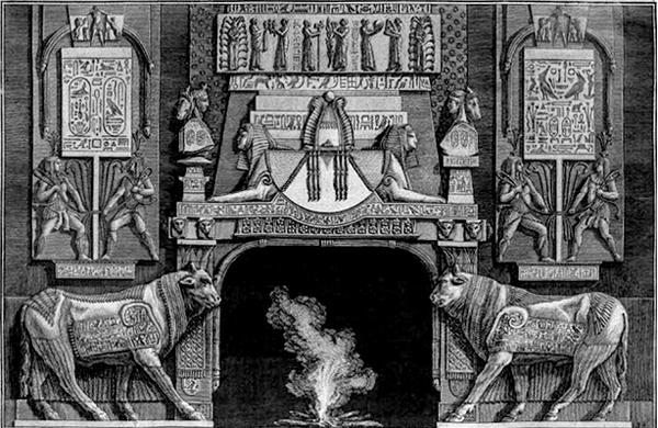 Diverse Maniere d 'adornare i Camini, 1769. Giambattista Piranesi