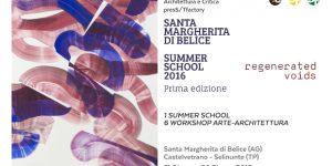 Summer School 2016: REGENERATED_VOIDS