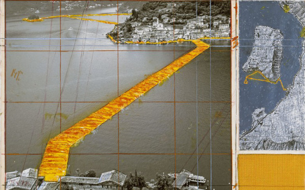 2 CHRISTO flooting piers