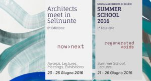 Architects meet in Selinunte + Summer School 2016