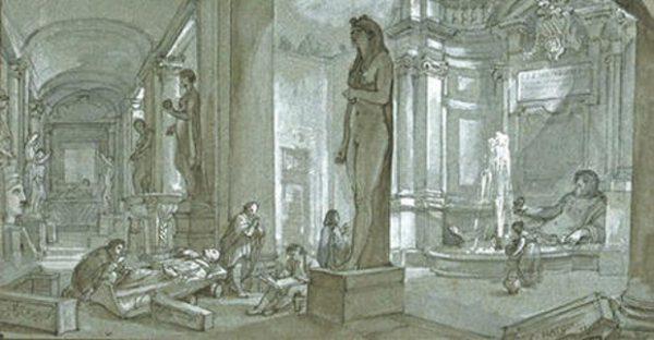 Una nota sull 'origine del museo - di Guido Aragona