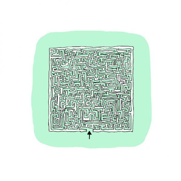 Maze House - Casa Labirinto - di Diego Lama