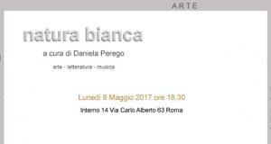 """Interno 14: """"Natura Bianca"""" a cura di Daniela Perego"""