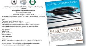 Presentazione numero monografico della RASSEGNA ANIAI su Salerno contemporanea
