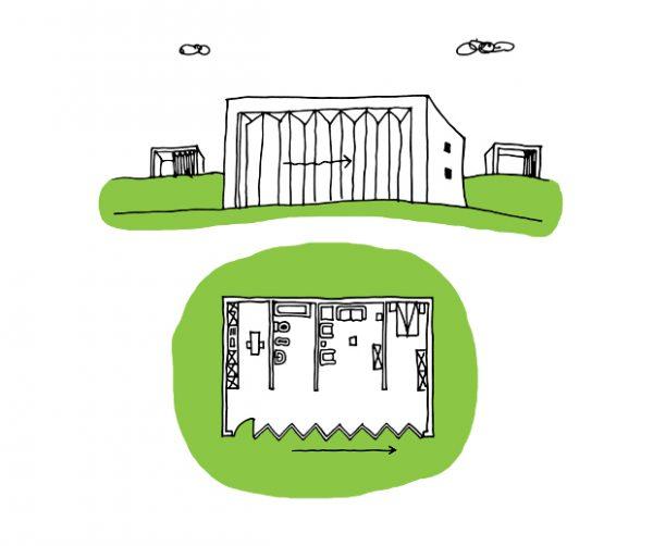 Curtain House - Casa Siparietto - di Diego Lama