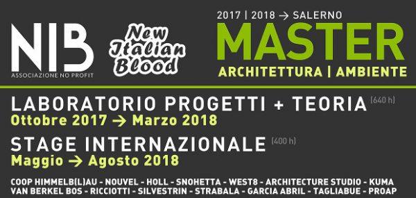 Master-Lab Architettura | Ambiente 2017-2018