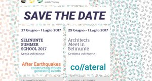 Architects meet in Selinunte co//ateral + Summer School 2017_After Earthquakes