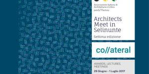 Architects meet in Selinunte co//ateral: Programma delle giornate