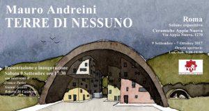 """""""Mauro Andreini. Terre di nessuno"""". Disegni & dipinti 2007-2014 – Roma"""