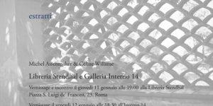 "Michel Assenmaker & Céline Willame. ""Estratti"""